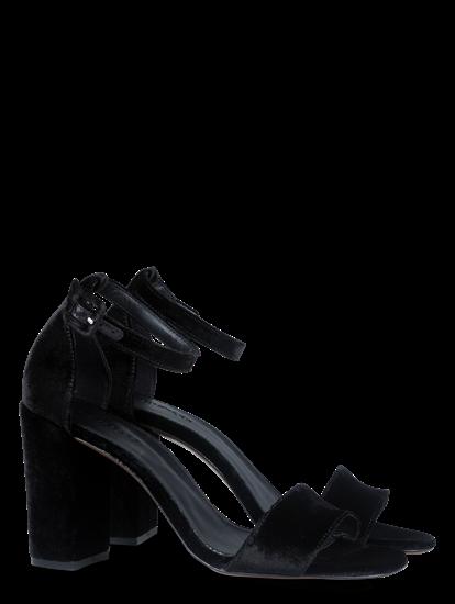 Bild von Sandaletten aus Samt