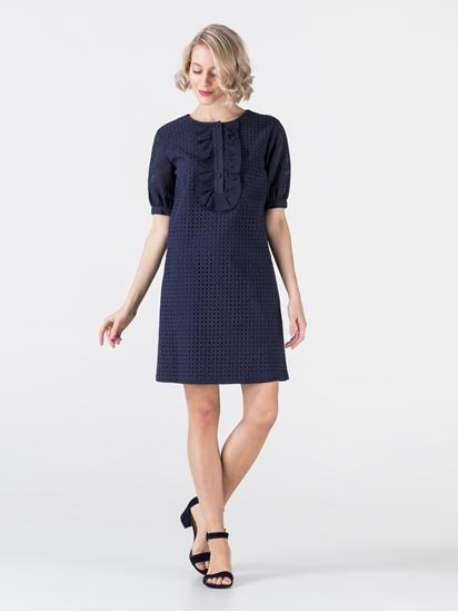 Bild von Kleid aus Spitze mit Rüschen
