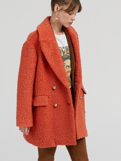 Bild von Mantel aus Schurwolle