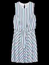 Image sur Robe à rayures et noeuds