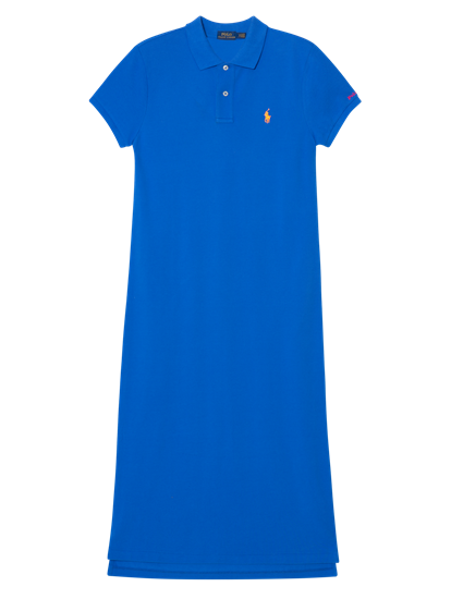 Bild von Kleid mit Polo-Kragen aus Piqué