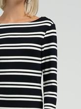 Bild von Jersey Kleid mit Streifen