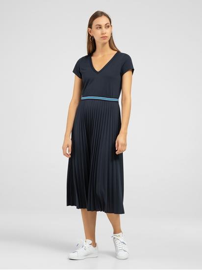 Bild von Jersey Kleid mit Plissee