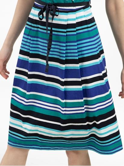 Bild von Kleid mit Streifen