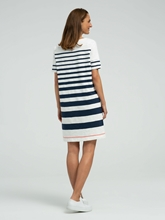 Image sur Jersey Kleid mit Streifen