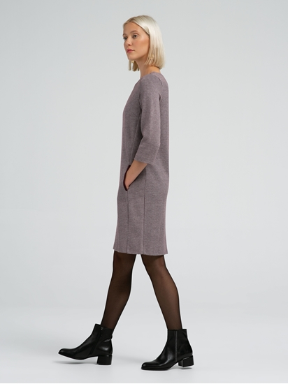 Image sur Kleid mit Hahnentritt-Karo