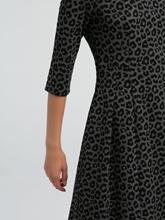 Image sur Robe imprimé léopard