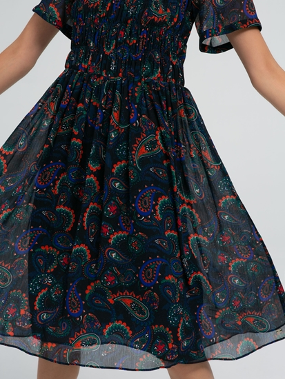 Image sur Kleid mit Print