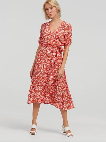 Image sur Robe midi imprimé floral
