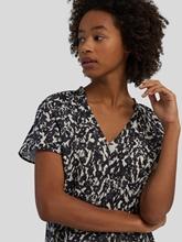 Bild von Blusenshirt mit Blätter-Print