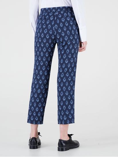 Image sur Pantalon motif jacquard