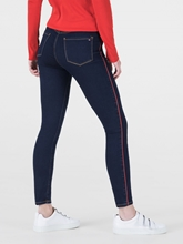 Bild von Skinny Jeans mit seitlichem Streifen COMO