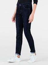 Bild von Jeans mit Samt-Optik