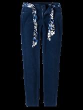 Image sur Pantalon velours avec ceinture