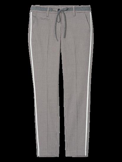 Image sur Pantalon motif pied-de-poule MORIEL