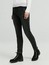 Bild von Jeans mit seitlichem Streifen ELY BLACK