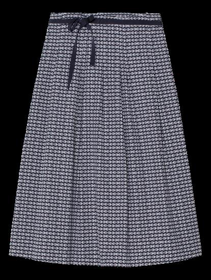 Image sur Jupe à plis et imprimée