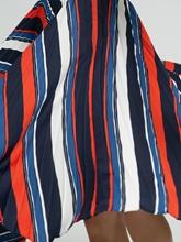Image sur Jupe plissée et rayures