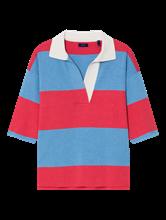 Bild von Oversized Pullover mit Blockstreifen