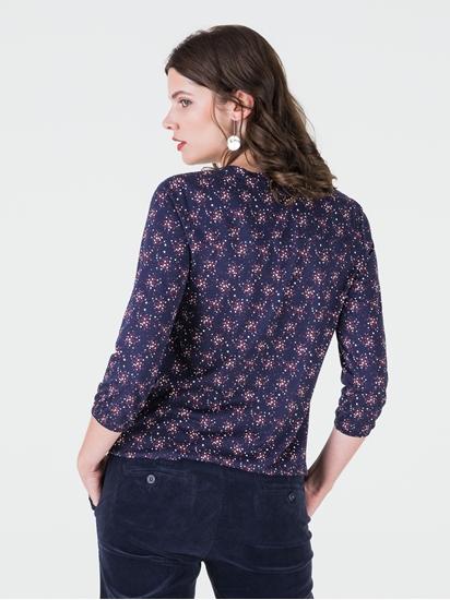 Bild von Shirt mit Gummizug und Print
