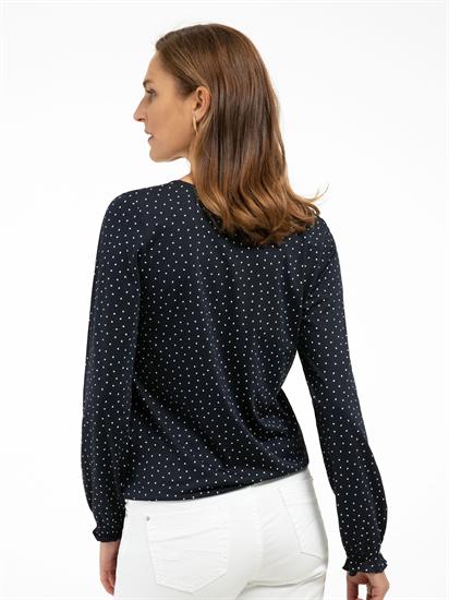 Image sur Shirt à pois et  taille élastique