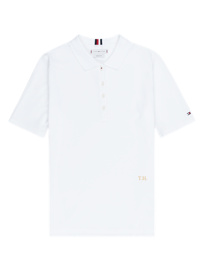 Image sur Polo Regular Fit coton piqué avec broderies