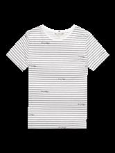 Bild von T-Shirt mit Streifen und Logo