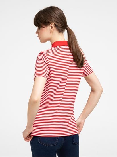 Bild von Polo-Shirt aus Piqué mit Streifen