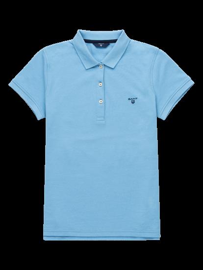 Image sur Polo en coton piqué avec logo brodé