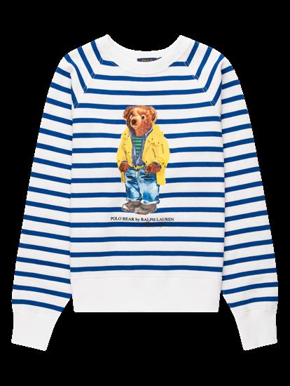 Bild von Sweatshirt mit Streifen unf Print