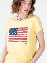 Bild von T-Shirt mit Flagge