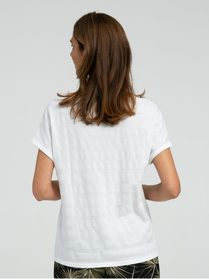 Bild von Shirt mit Streifen und Struktur