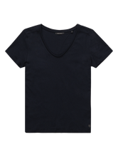Bild von T-Shirt mit seitlichem Streifen