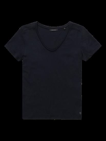 Image sur T-shirt avec rayure latérale