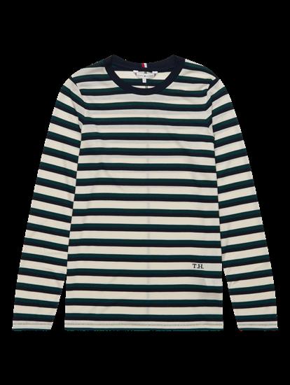 Image sur Shirt manches longues et rayures