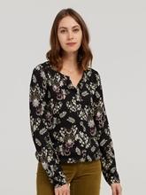 Bild von Shirt mit Blumen-Print