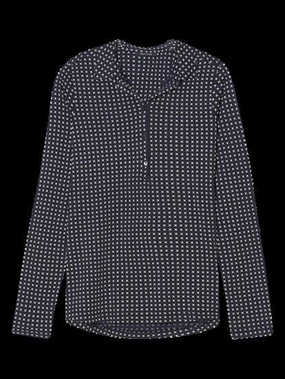 Image sur Chemisier jersey avec imprimé