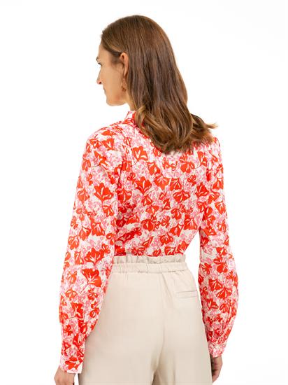 Image sur Blouse avec imprimé floral