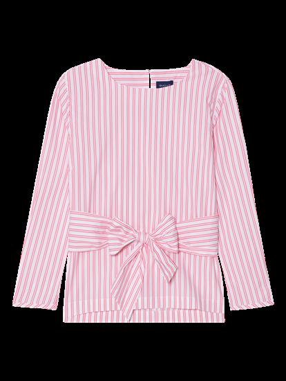 Bild von Bluse mit Streifen und Schleife