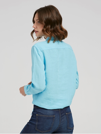 Image sur Blouse Relaxed Fit lin