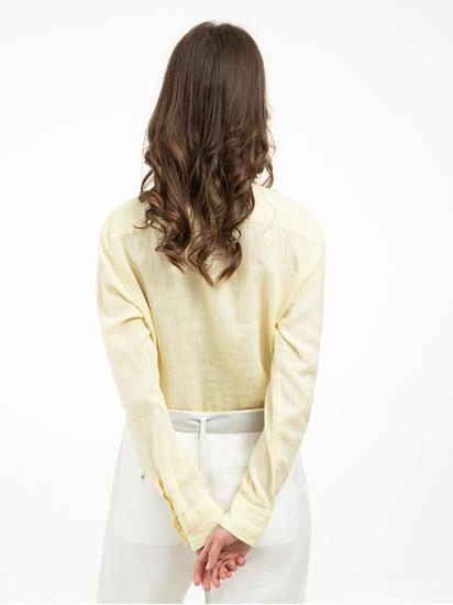 Bild von Bluse aus Leinen mit Streifen