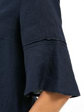 Image sur Blouse lin et manches à volants