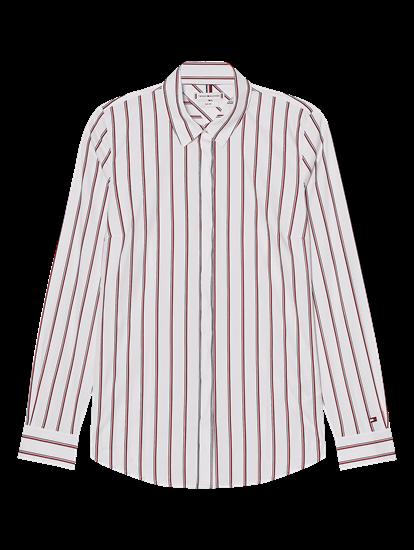 Bild von Hemdbluse mit Streifen im Slim Fit