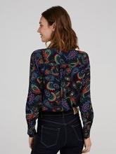 Bild von Bluse mit Paisley-Muster