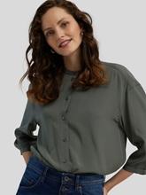 Bild von Leichte Bluse mit Knopfleiste