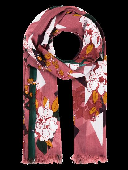 Image sur Echarpe imprimé fleurs