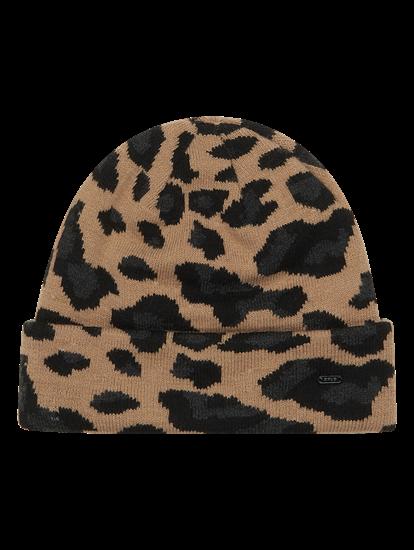 Image sur Bonnet avec motif léopard ALEO CAP