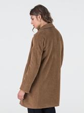 Image sur Manteau laine en peluche