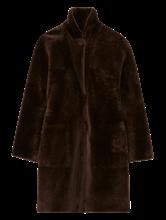 Image sur Manteau réversible fourrure mouton