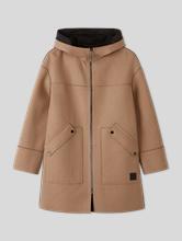 Image sur Manteau laine réversible